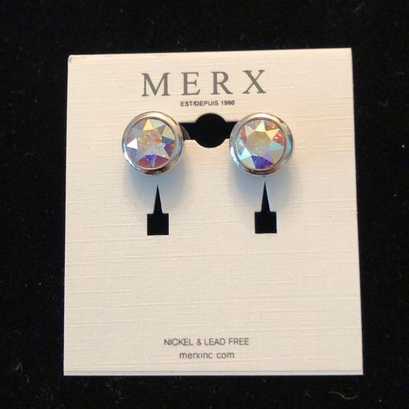 Merx Jewelry - Merx Clear Earrings